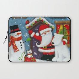 Santa's House Laptop Sleeve
