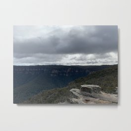 Lincoln's rock, Blue Mountains, NSW Metal Print