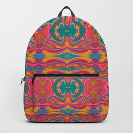 Ornament Flowers Backpack
