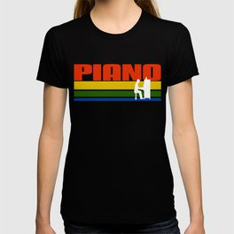 Vintage Piano Fan Tshirt T-shirt