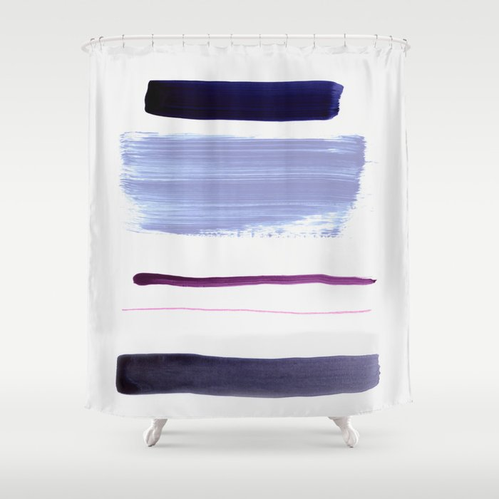 minimalism 9 Shower Curtain