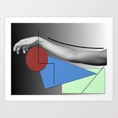 Arm-ed Art Print