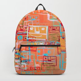Many Faces Backpack