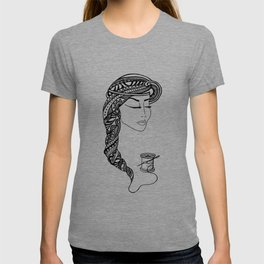 Reep What You Sew | Black and White Illustration T-shirt