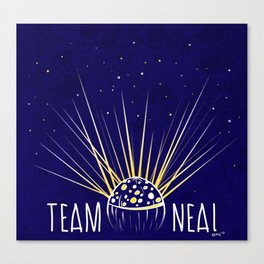 Team Neal Canvas Print
