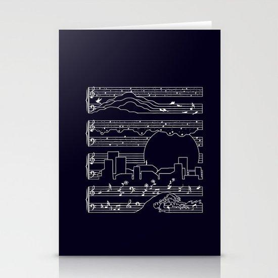 The Moonlight Sonata Stationery Cards