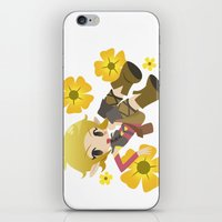 dragon age iPhone & iPod Skins featuring Dragon Age - Buttercup Sera by Choco-Minto