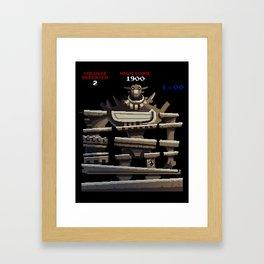 Donkey Colossus Framed Art Print