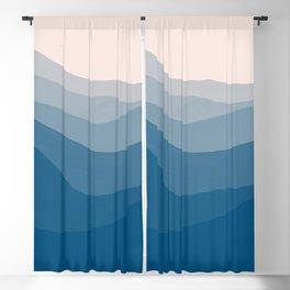 Azure Shores Blackout Curtain