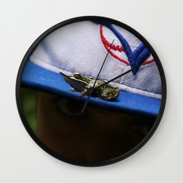 Ribbit. Wall Clock