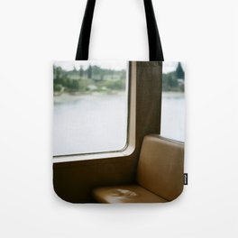 Empty Seat on the Ferry Tote Bag