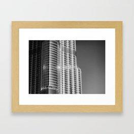 Burj Khalifa 2 Framed Art Print