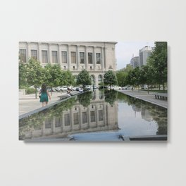 Philly by the Barnes Metal Print