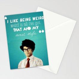 like a moss Stationery Cards