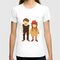 thanksgiving T-shirts featuring Thanksgiving Happiness by Elena Kouvaros