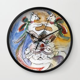 Pet Outing Wall Clock