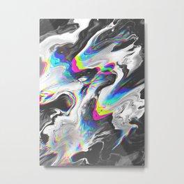 EASY Metal Print