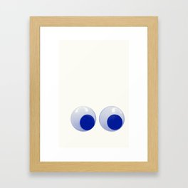 I always feel like... Framed Art Print