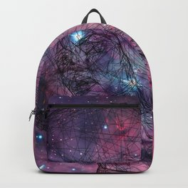 Gorgeous Groovy Galaxy Gal Backpack