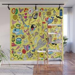 Geek Chic Megamix Yellow Wall Mural