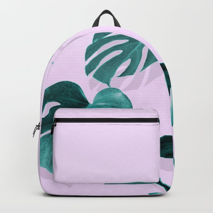 Monstera Palm on Musk Backpack