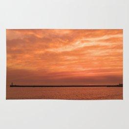 wonderful sunset Rug