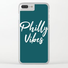 Philly Vibes Clear iPhone Case