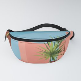 Coral space Fanny Pack