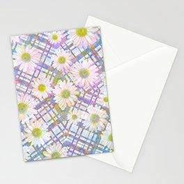 Daisy Plaid Stationery Cards