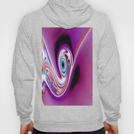 Waves and swirls, abstract, decorative patterns, colorful piece no 19 Hoody