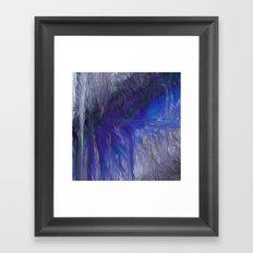 Fragment 20: Resting in Flow Framed Art Print