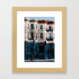 Montréal Framed Art Print