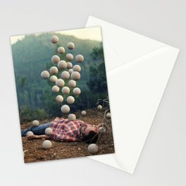 """""""Somethings bubbling up"""" by Ronen Goldman Stationery Cards"""