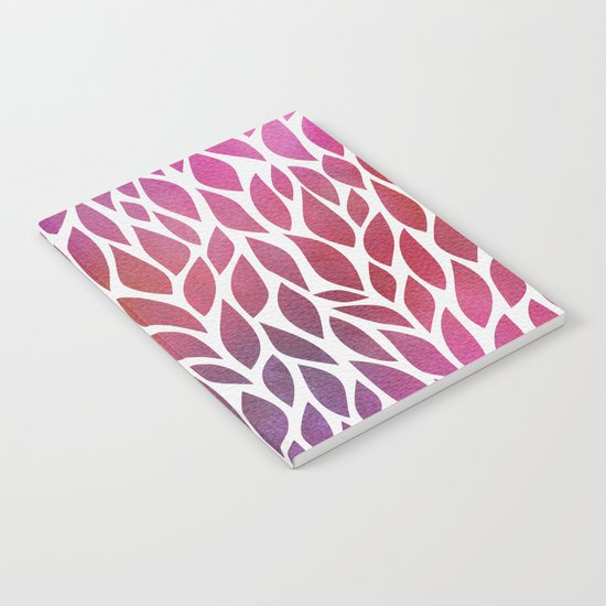 Petals Pattern #3 Notebook