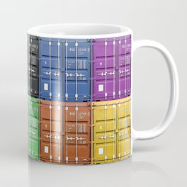 shipping container color box Coffee Mug