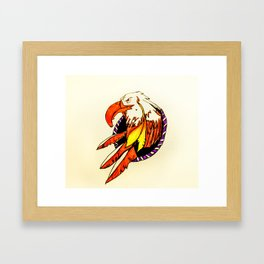 Eagle Dreamcatcher Framed Art Print