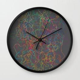 50 Animated Characters  Wall Clock