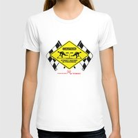 racing T-shirts featuring Street Racing by Justin Stohlman