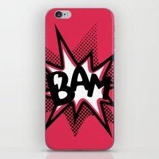 BAM! iPhone & iPod Skin