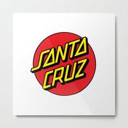 Santa Cruz Metal Print