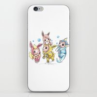 projectrocket iPhone & iPod Skins featuring Bursting Bubbles by Randy C