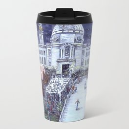 Cardiff Winter Wonderland Travel Mug