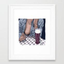 Eternally Yours Framed Art Print