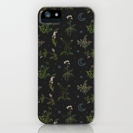 Witches Garden iPhone Case