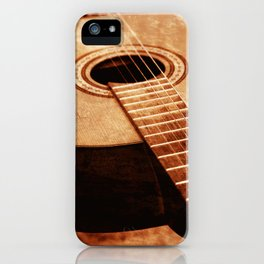 Guitar Art iPhone Case