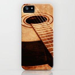 Guitar Art iPhone Case
