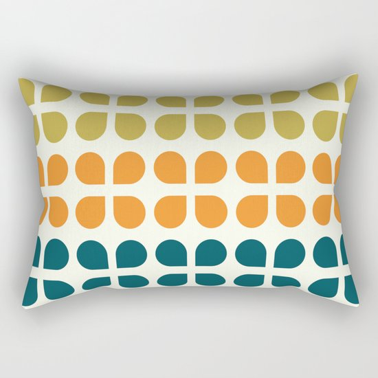Retro '70s Geometric Leaves by junejournal