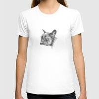 french bulldog T-shirts featuring French Bulldog by Squidoodle