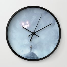 Little devil inside Wall Clock