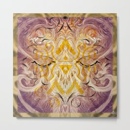 Transcendent Square Metal Print